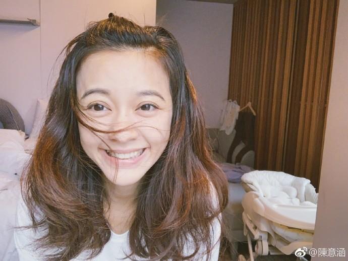 陳意涵微博公開自己生產後的照片,素顏也擁有好氣色-IA專業美睫設計