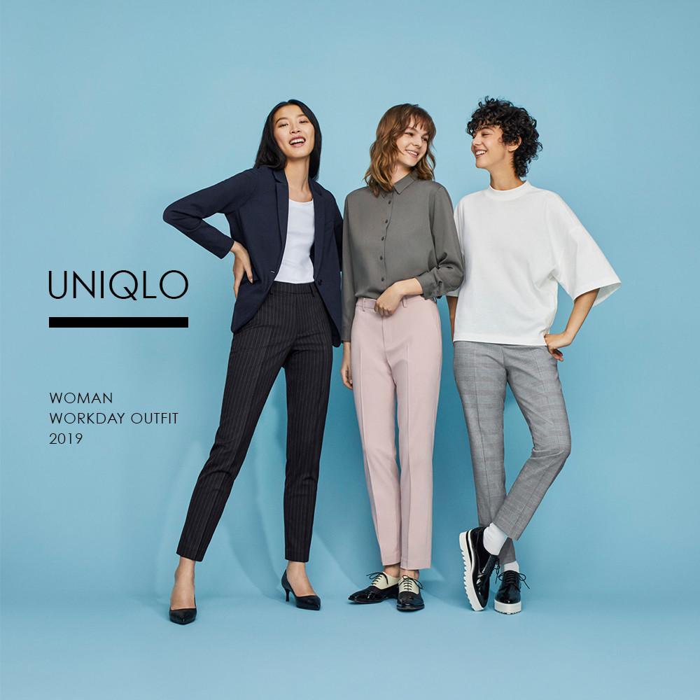 Uniqlo職場女性穿搭趨勢跟隨景氣改變-IA專業美睫設計