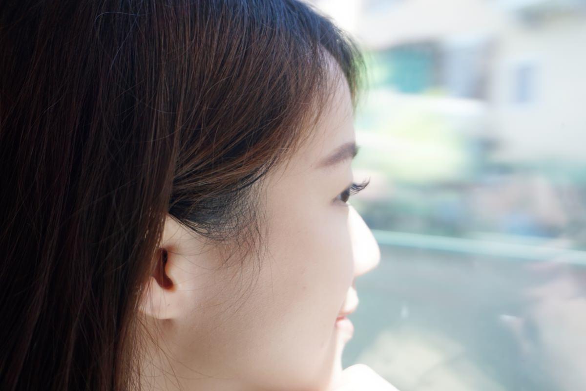 參加婚禮必備的日式3D無感接睫毛實際成品照2 台北中山區IA專業美睫設計